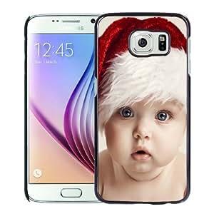Beautiful Custom Designed Samsung Galaxy S6 Phone Case For Santa Claus Baby Boy Phone Case Cover