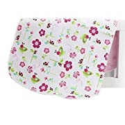 Changing Pad,Fairy Baby Baby Diaper Portable Travel Home Waterproof Urine Mat Pack of 1(Pink Elephant,11.80 x17.71 )