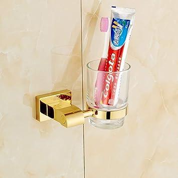 Aich Accesorios de baño de latón Soporte para Cepillo de Dientes ...