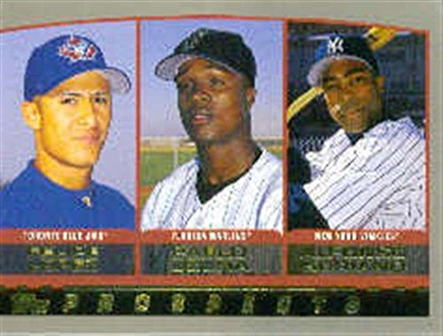 2000 Topps 203 Alfonso Soriano Yankees Felipe Lopez Blue Jays Pablo Ozuna Marlins