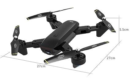 LanLan UAV con cámara, SG700-S RC Quadcopter con cámara 1080P WiFi FPV Plegable