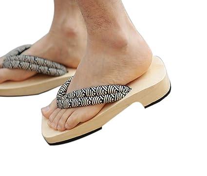 metà fuori a4769 2cdfc Zoccoli di legno giapponesi per sandali da uomo Japan ...