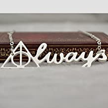 Harry Potter Necklace,Silver Deathly Hallows Pendant Necklace,so Cute and Lovely Necklace,fashion Jewelry,friend Gift