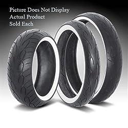 vee rubber monster vw30210 rear 16 white wall tire for custom