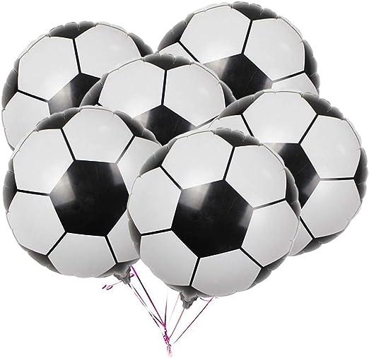 Toyvian 20 Piezas de balón de fútbol para Decorar Globos para la ...