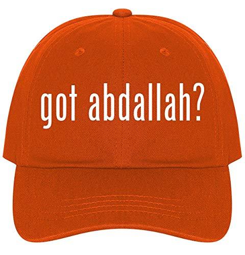 The Town Butler got Abdallah? - A Nice Comfortable Adjustable Dad Hat Cap, Orange