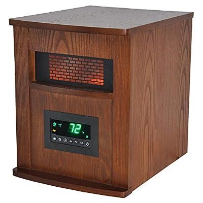 Lifepro by Lifesmart LS-1000X-6W Infrared Heater - Brown