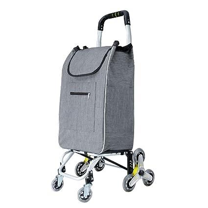 Amazon.com: Carro de la compra con ruedas giratorias ...