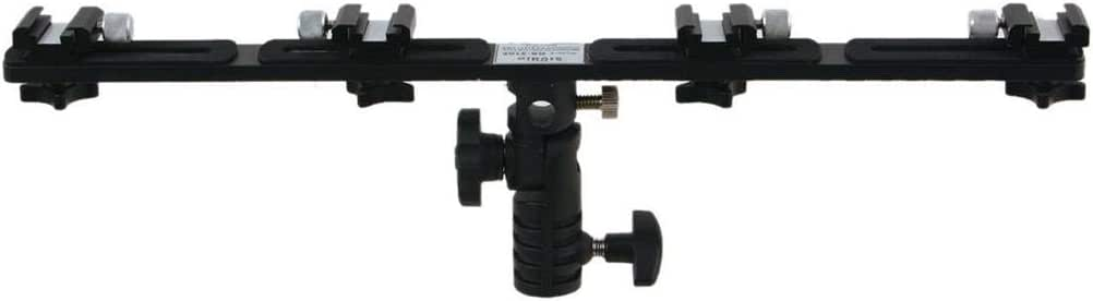 Heavy Duty Light Bar with Four Accessory Shoes, with bounce, and umbrella socket RS-3102