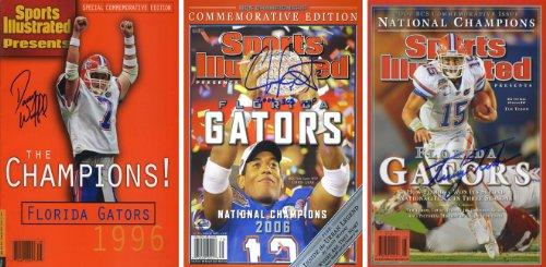 Florida Gators Sports Illustrated Championship Autograph Replica Posters - Tim Tebow, Chris Leak, Danny