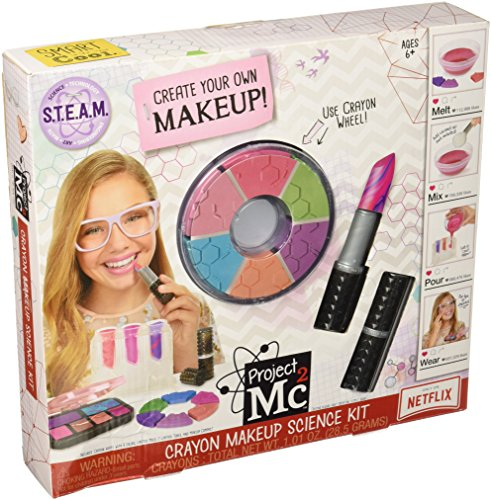 Rare Unusual Gift Ideas Project Mc2 Crayon Makeup Science Kit Toy