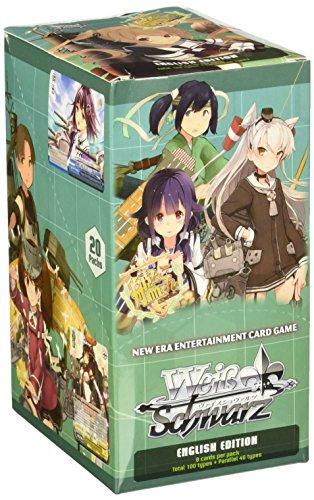 Weiss Schwarz Kan Colle Kancolle Kantai 2ND FLEET (Volume 2) English Booster Box - 20 packs / 8 cards by WS Weiss Schwarz