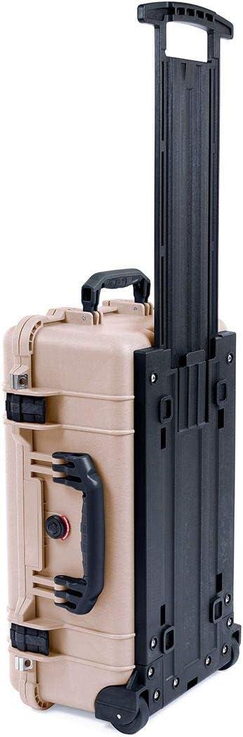 Desert Tan /& Black Pelican 1510 case with Foam.