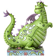 "Disney Traditions by Jim Shore ""Pete's Dragon"" 40th Anniversary Elliot Stone Resin Figurine, 9"""