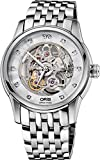 Oris Artelier Skeleton Diamonds 40.5mm Mens Watch 73476704019MB