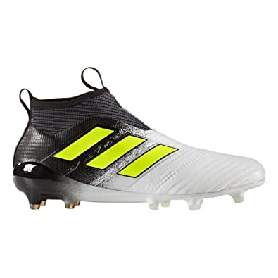 sale retailer 96953 09d98 adidas Ace 17+ Purecontrol FG Cleat Men s Soccer 7 Running White -Electricity-Black