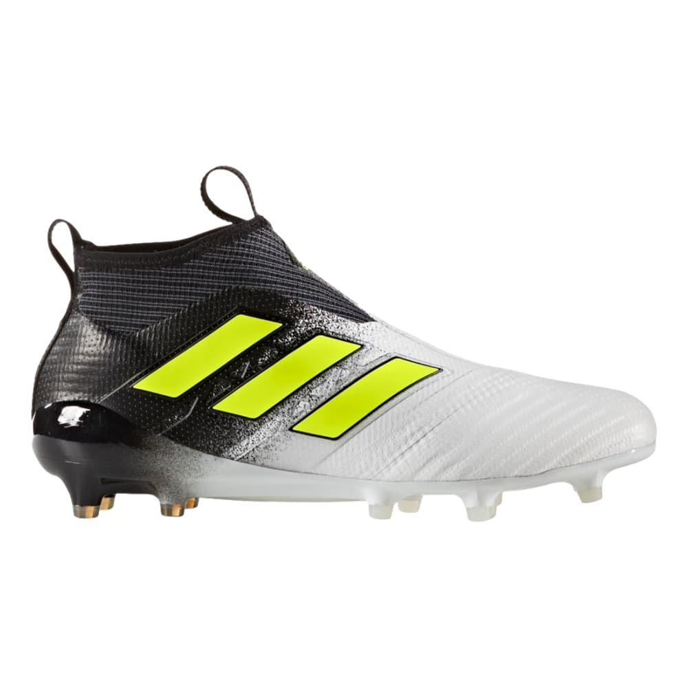 8654885b547 Galleon - Adidas Ace 17 Purecontrol FG Cleat Men s Soccer 11.5 Running  White-Electricity-Black