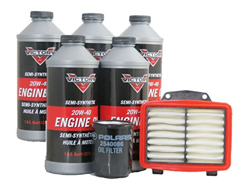 (2008-2012 Victory Vision 8-Ball Oil and Air Maintenance Kit)