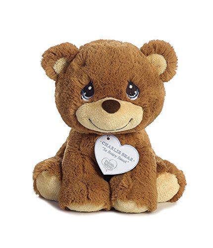"Aurora World Precious Moments So Beary Sweet Charlie Bear Plush, 8.5"", Brown"