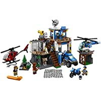 LEGO City Mountain Police Headquarters 663-Piece Building Kit