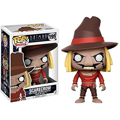 Funko Pop! DC Scarecrow #195 Animated Series: Funko Pop! Heroes:: Toys & Games