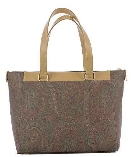 Etro Women's 0H3192500600 Brown Leather Tote