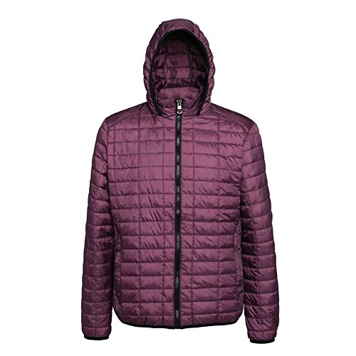 539b139f27d7 2786 Mens Casual Zip Attractive Fit Padded Honeycomb Hooded Jackets Size  XS-3XL  Amazon.co.uk  Clothing