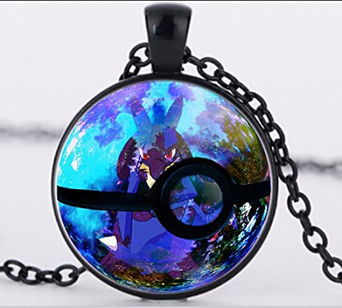 crystal-ball-glass-pendant-necklace-new-glass-cabochon-pendant-statement-necklaces