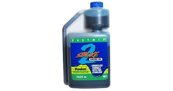 Amazon.com: Poulan/Weedeater 2-Cycle EZ mezclar el aceite ...