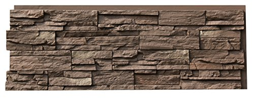 (NextStone Country Ledgestone Faux Polyurethane Stone Panel - Himalayan Brown - 4)
