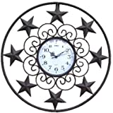 De Leon Collections Star Wall Clock 18″ For Sale