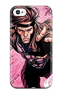 Renee Jo Pinson's Shop For JeremyRussellVargas Iphone Protective Case, High Quality For Iphone 4/4s Gambit X Men Skin Case Cover