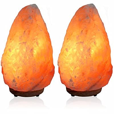 Natural Himalayan Salt lamp warm Glow