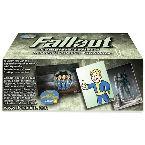 Fallout Trading Cards Series 1 Complete Base Set with Bonus Cards and ()