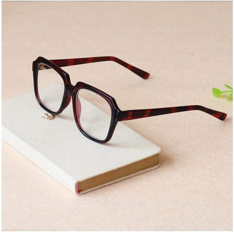 Gxianwengen Occhiali da Sole Antivento retrò da Uomo, Occhiali da Vista di Mezza età e Anziani (Colore : Marrone) Clear