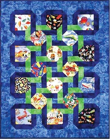 I Spy with a Twist Quilt Pattern