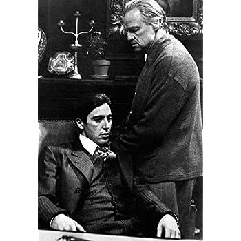 Amazoncom The Godfather Poster Don Vito Corleone Italian
