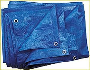 azules–Lona protectora (60g/m², 5x 8m–Uso Universal Lona