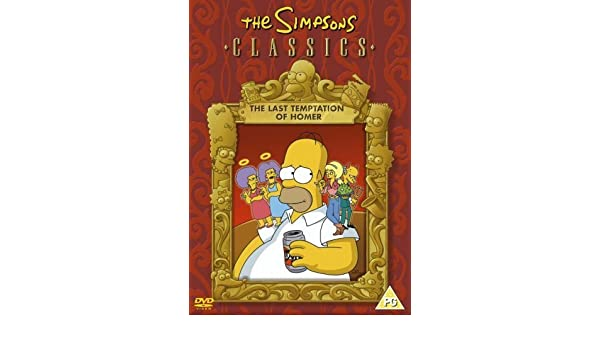 Amazon Com Simpsons The The Last Temptation Of Homer Import Zone 2 Uk Anglais Uniquement Import Anglais Movies Tv