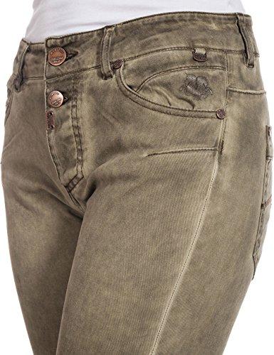 Pantalones 6173 0293 16 Para natural Beige Timezone Mujer 4v8Snwp