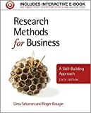 Research Methods for Business: A Skill-Building Approach.