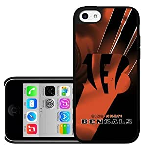 Cincinnati Bengals Football Sports Hard Snap on Cell Phone Case Cover iPhone (5c)