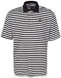 Oxford NCAA Vanderbilt Commodores Men's Bar Stripe Golf Polo, Black/White, Medium