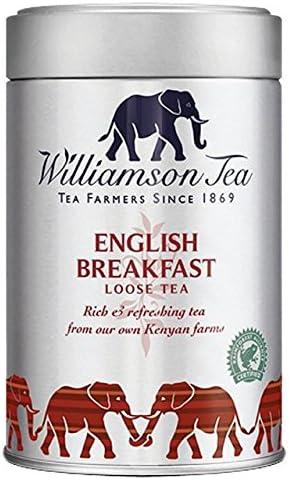 Williamson Bellas T/és Ingl/és Desayuno Cilindro flojo 100g del t/é