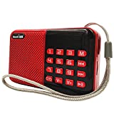 Household appliances Support TF U Disk Older MP3 Player, Portable Mini Full-Band Radio, Large Button Radio AOYS