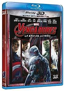 Vengadores: La Era De Ultrón (BD 3D + 2D) [Blu-ray]