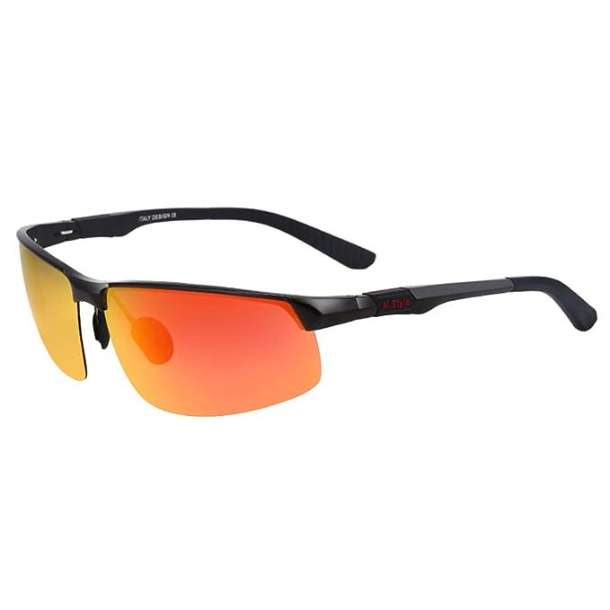 Vbiger Gafas Polarizadas Gafas de Deportes Ciclismo al Aire Libre Protección UV