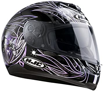 Hjc Helmet Fs 11 Duende Mc31 Size Xl Amazon Co Uk Car Motorbike