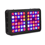 300 Watt LED Grow Light, Exulight Hydroponic Full Spectrum Panel Lamp for Hydro Greenhouse & Indoor Medical Plant Seeds Veg Growing Flower Bloom with UV&IR