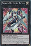 yugioh number 1 - Yu-Gi-Oh! - Number F0: Utopic Future (WSUP-EN026) - World Superstars - 1st Edition - Prismatic Secret Rare